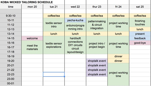 tailoring-school-schedule