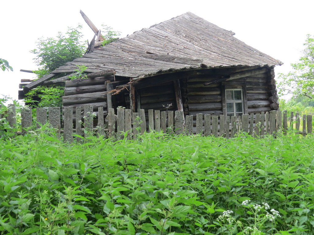 Разваливающийся дом