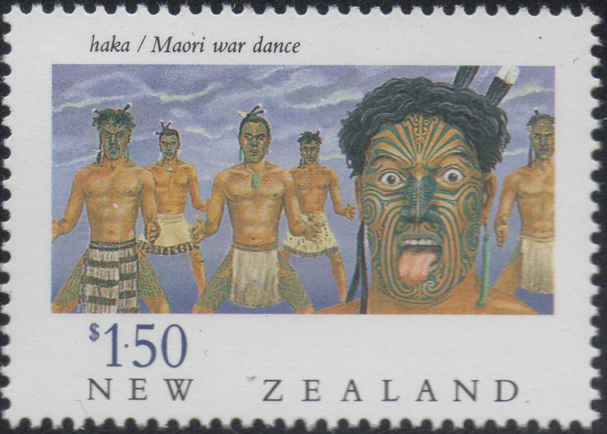 New Zealand - Scott #1002 (1990)