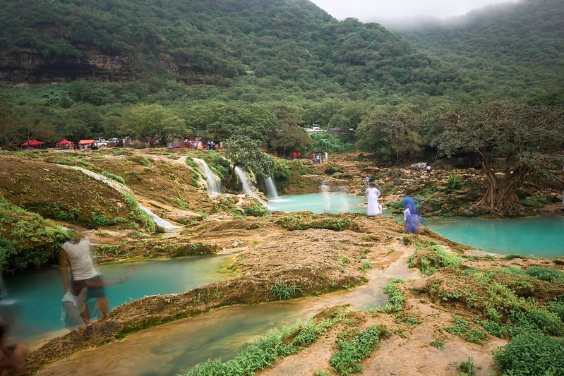 Wadi Darbat Waterfalls Salalah