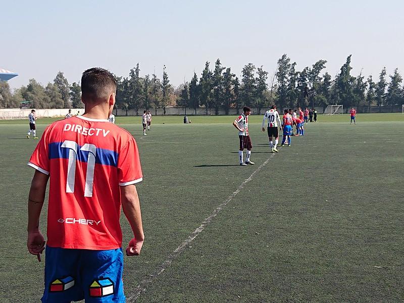 La Juvenil Sub 19 y 17 versus Palestino
