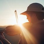 Violin in the desert, Iran