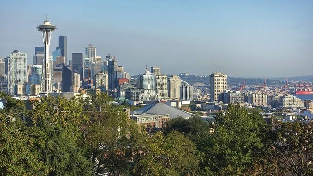 Seattle, View from Queen, Sony DSC-RX100M3, Sony 24-70mm F1.8-2.8