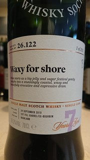 SMWS 26.122 - Waxy for shore
