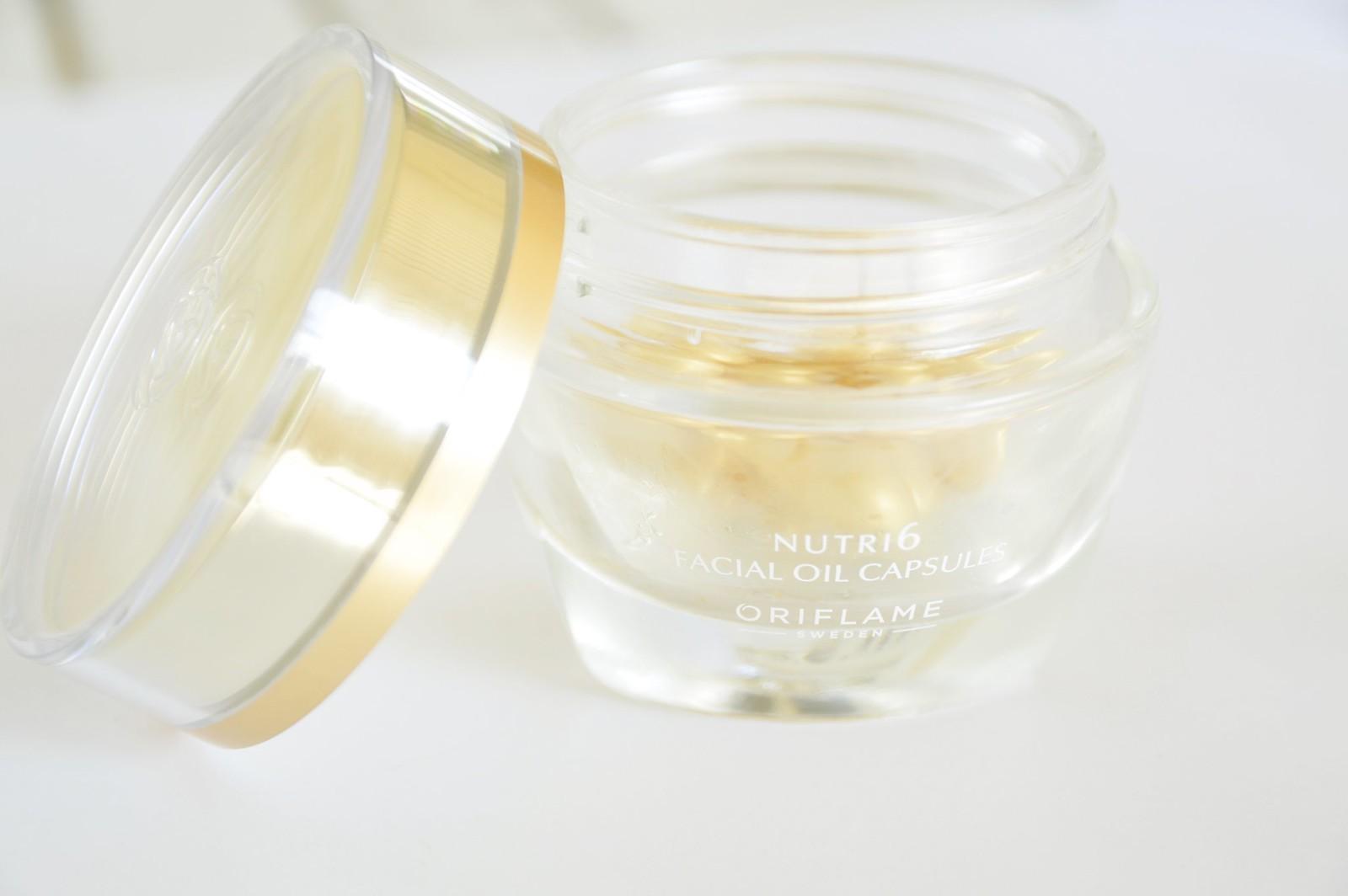Oriflame NovAge NUTRI6 Facial Oil Capsules