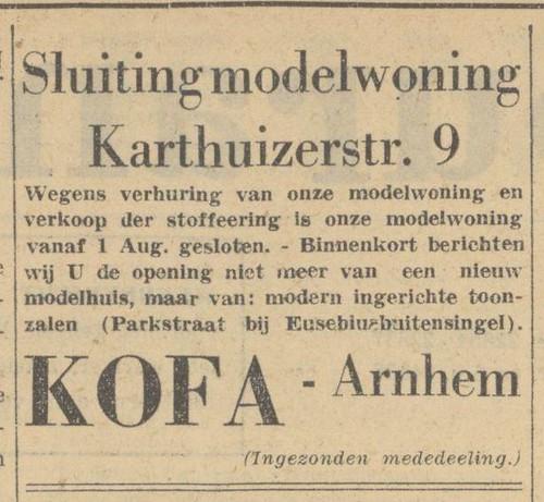 """Sluiting van modelwoning """"Angerenstein"""""""