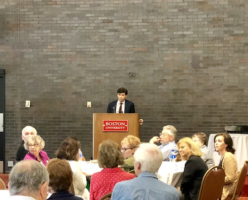 BUWG Lunch and Learn with Mike Rezendes