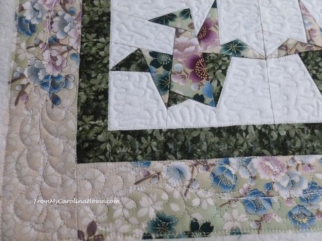 Orizuru Quilt at From My Carolina Home