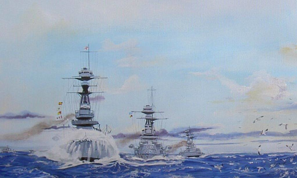 Just a wee reminder that today is the 100th anniversary of GB entering WW1 R Class Battleships