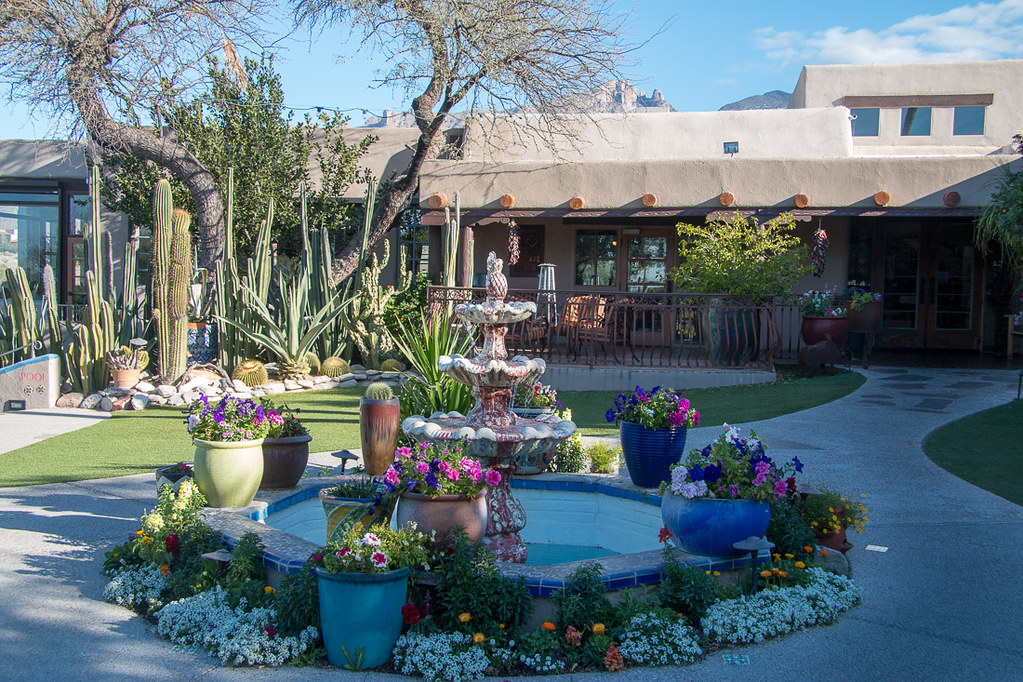 Exterior and grounds of Hacienda del Sol | Tucson hotel review