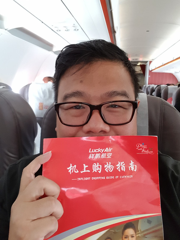 lucky air places and foods