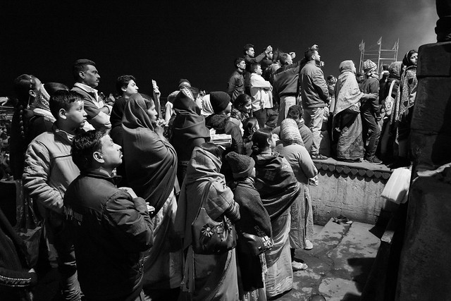 Street shot Varanasi India