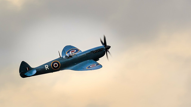 Castle Howard Proms 2018, Spitfire flypast