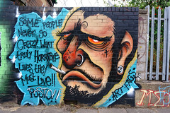 Go crazy graffiti