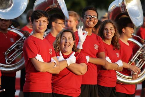 08-17-18 Home Football - Goshen Crimson Marching Band