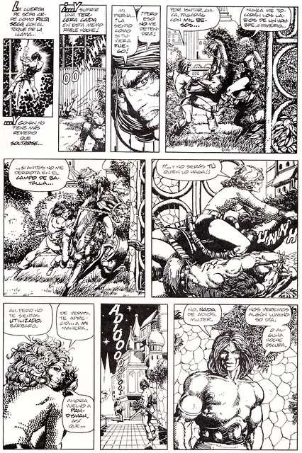 Conan de Roy Thomas y Barry Windsor Smith 07 -03- La Canción de Red Sonja 10 - Compo