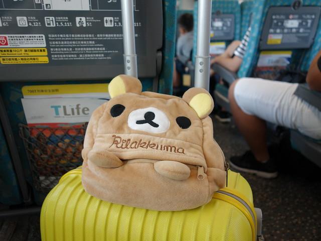 我與鹿鹿的簡單行李