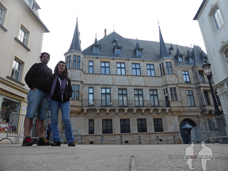 149. Katz y Saioa, Palacio Gran Ducal, Barrio Alto, Luxemburgo