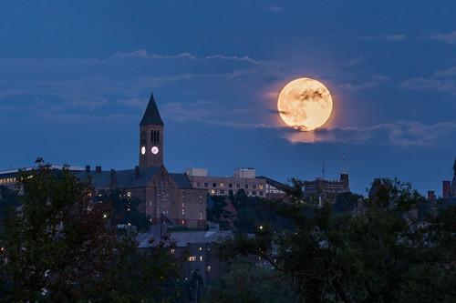 Sturgeon Moon Over Cornell