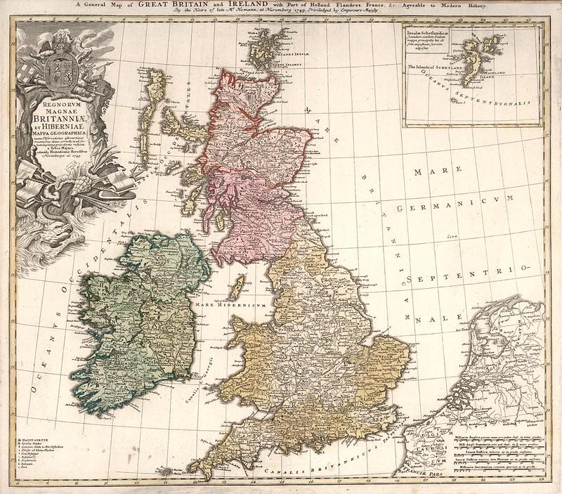 Tobia Majero - Regnorum Magnae Britanniae et Hiberniae (1749)