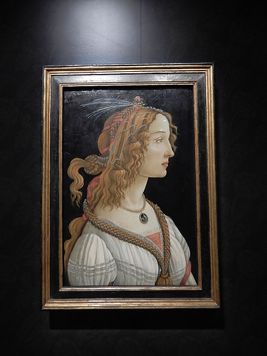 DSCN2661 - Idealized Portrait of a Lady, Sandro Botticelli, The Pre-Raphaelites & the Old Masters