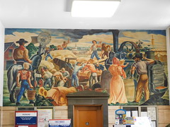 Hutchinson, Kansas Post Office Mural