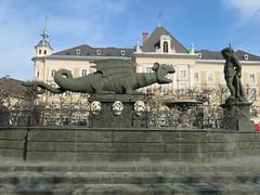 Lindwurm in Klagenfurt