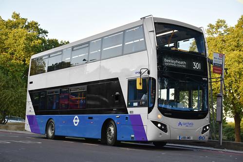Crossrail Feeder Buses livery