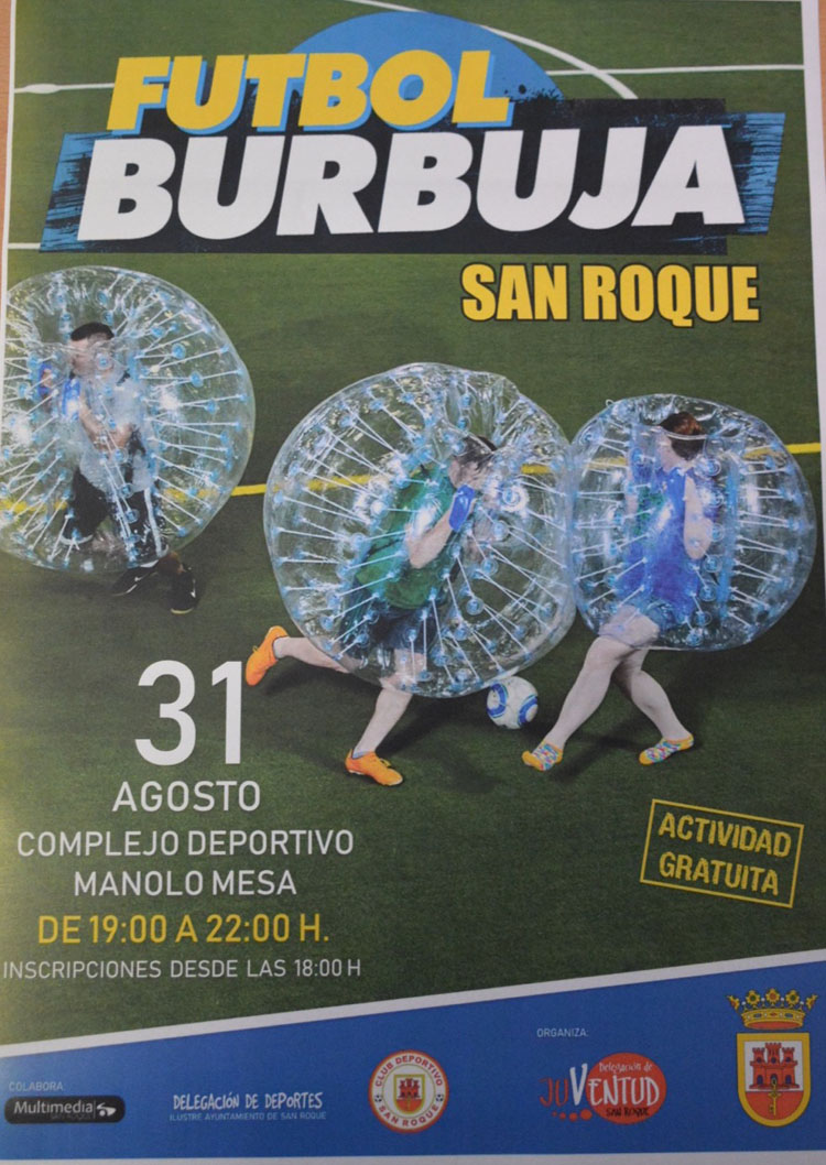 presentan futbol burbuja51