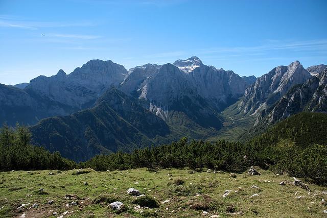 Alpine valleys