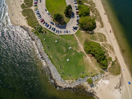 newengland phantom3 drone ocean rhodeislandbay rhodeisland aerial sethjdeweyphotography phantom3pro conimicut shore