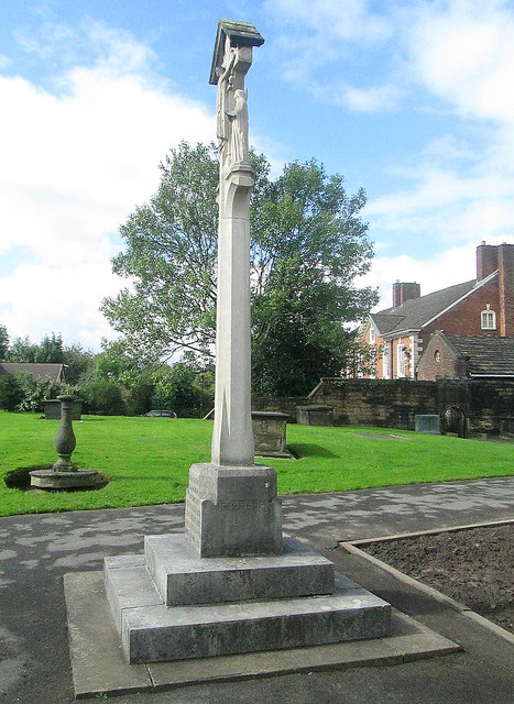War Memorial, St Chad's, Rochdale