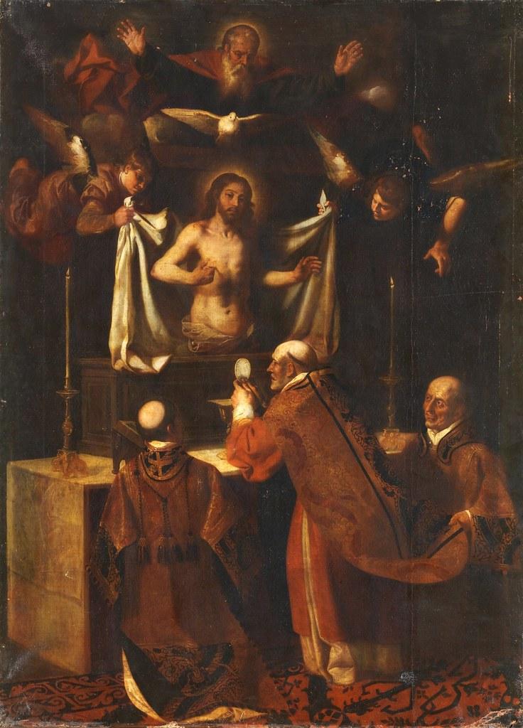 Jerónimo Jacinto de Espinosa - La misa de San Gregorio