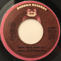 ANDREA TRUE CONNECTION:MORE, MORE, MORE(LABEL SIDE-A)