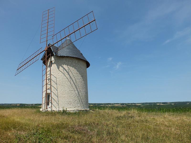 [202-001] Montdoumerc - Moulin à vent de Granié