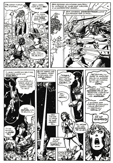 Conan de Roy Thomas y Barry Windsor Smith 05 -04- La Emperatriz Verde de Melniboné 03