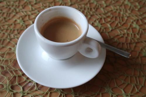 Espresso zum Abschluss
