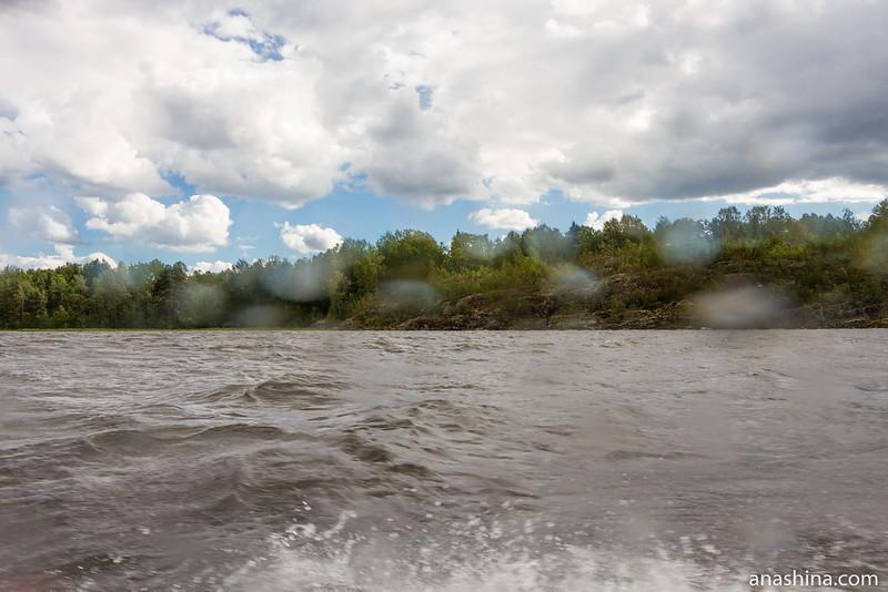Скалистый берег, Ладожское озеро