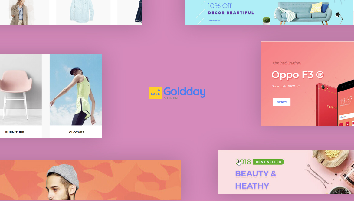 Leo Goldday - Multistore for Hitech, Digital, Electronics, Furniture store