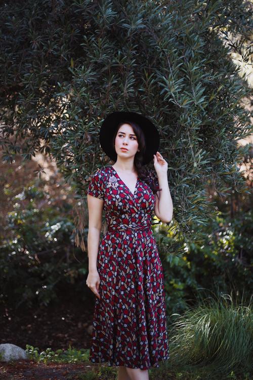 Karina Dresses Margaret Dress in Falling Leaves