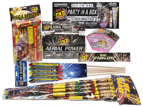 TNT Party In A Box Fireworks Selection