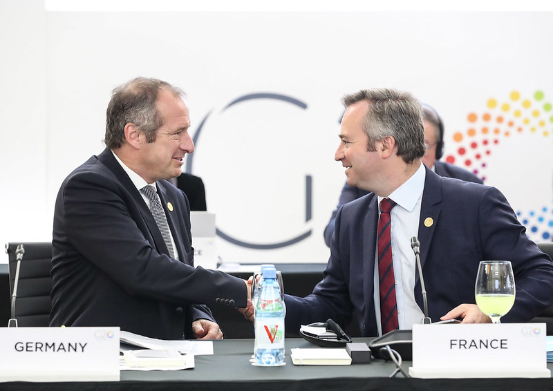 German Parliamentary State Secretary for Economic Affairs & Energy Oliver WITTKE and French State Minister for Europe & Foreign Affairs Jean-Baptiste LEMOYNE - Trade & Investment Ministerial Meeting, Mar del Plata