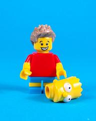 Bart on his lunch break...