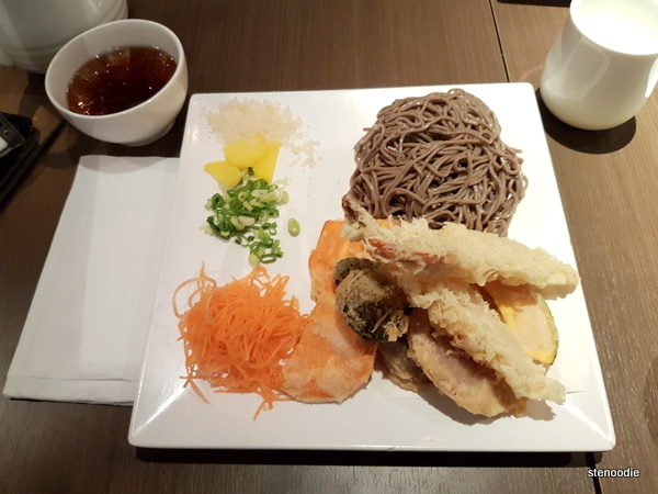 Cold Soba Combo with Tempura