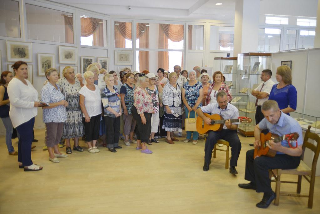 Открытие выставки «Врубель. Лермонтов. Абрамцево»  в музее-заповеднике «Тарханы» 29 августа 2018 г.