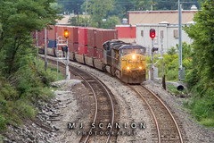 CSX 382 | GE AC4400CW | CN Shelby Subdivision
