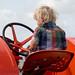 Little boy, Big tractor