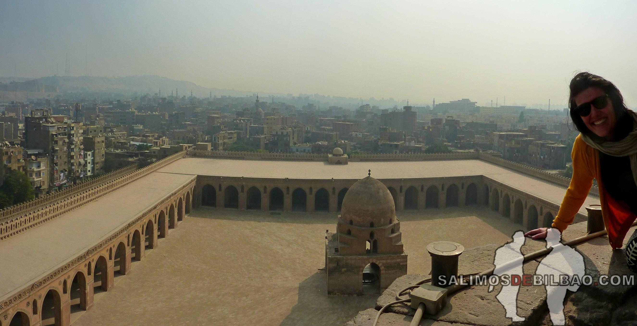 0020. Saioa, Pano, Mezquita de Ahmad Ibn Tulun, Cairo