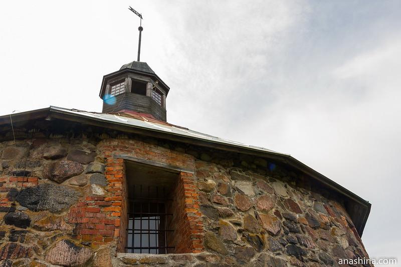 Круглая воротная башня, крепость Корела, Приозерск