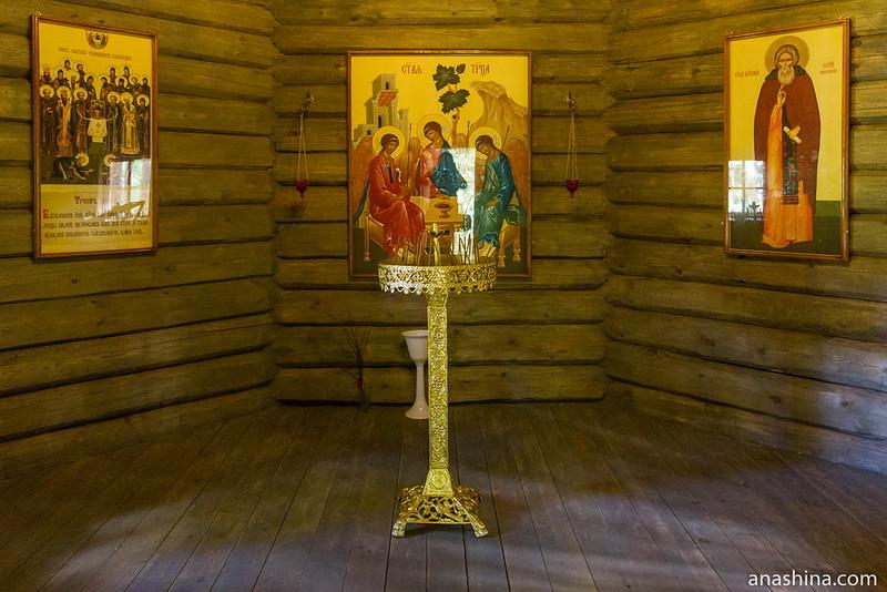 Часовня преподобного Сергия Радонежского, Северная Фиваида, Рауталахти, Карелия